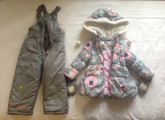 Куртка демисезонная, штаны осень/зима