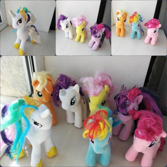 Полная коллекция My little pony.