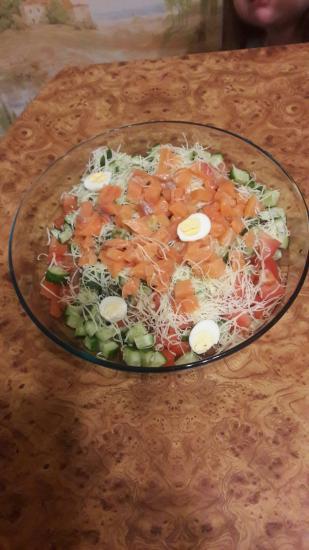 Мой любимый салат!