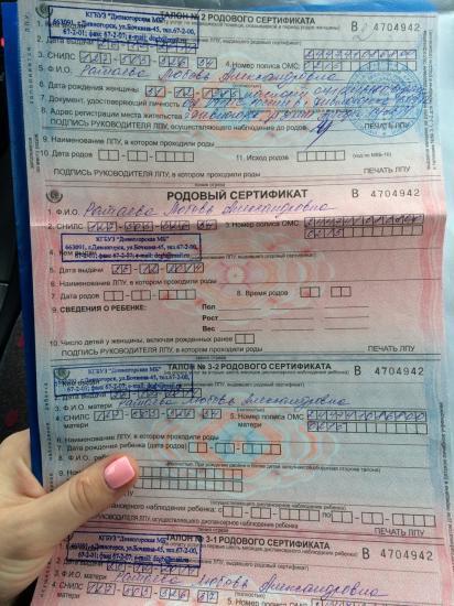 Вот и мы забрали свой сертификат!