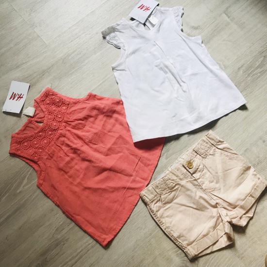 Новый наборчик H&M на девочку 80-86