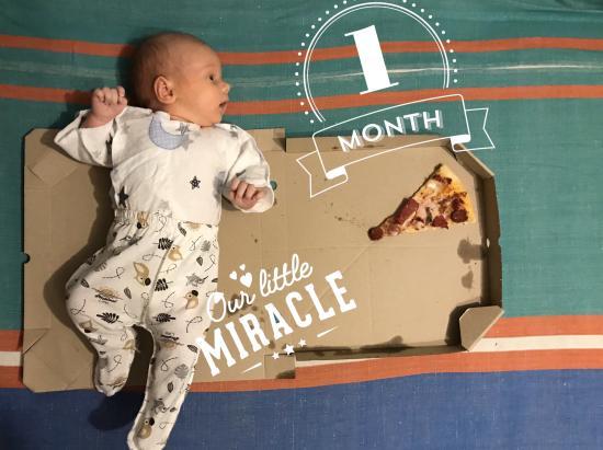 Наш первый месяц 🥰#babyegorenko