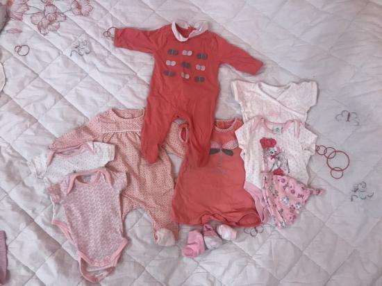 Девочки набор вещей на новорожденную