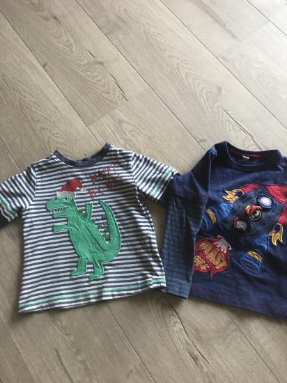 Две футболочки, цена 70 грн, размер