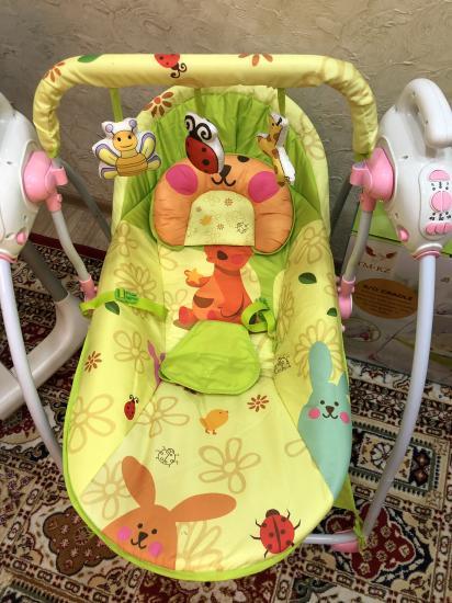 Качели Baby cradle 801 + москитная