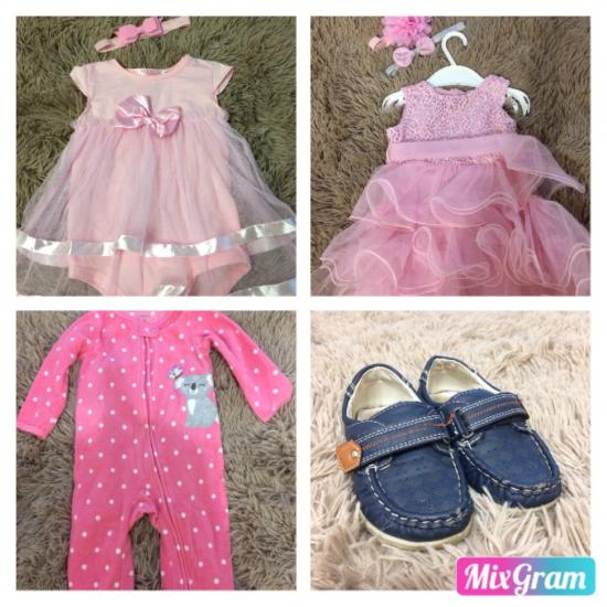 1. Платье-боди 7-12 месяцев, в