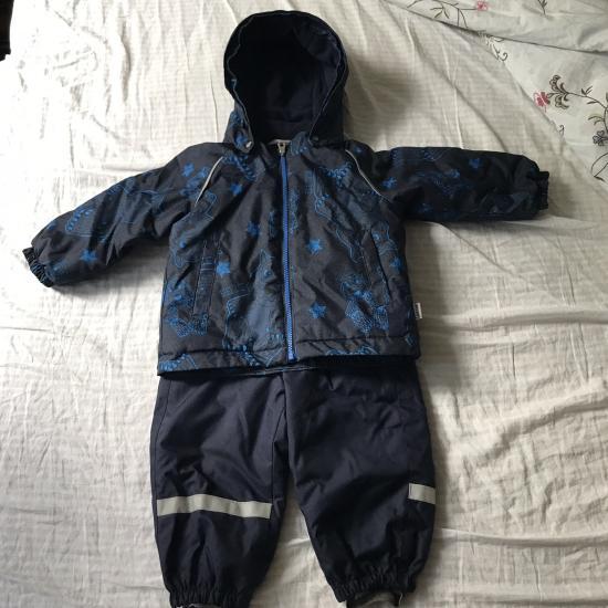 Продам зимний комплект lassie  Куртка