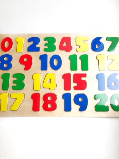 """🔢Пазл """" Цифры от 0 до 20""""🔢 ⠀ Пазл"""