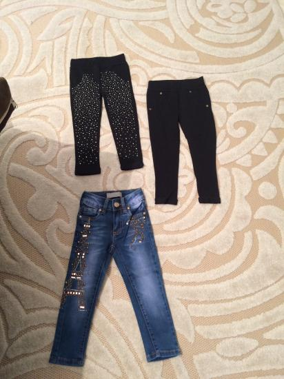 Лосины 2-3 года 350руб джинсы 140см
