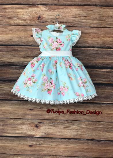 Красивое детское платье, модель