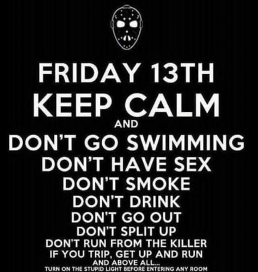 Happy Friday the 13th! 👻