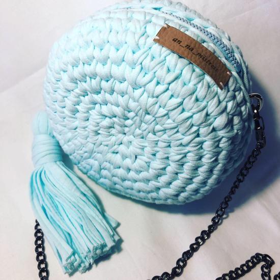 Мои сумочки, нежно голубая идеальна