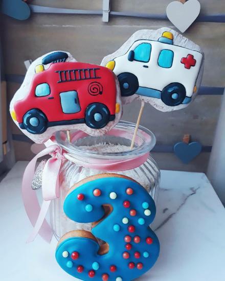 Пряники для детского торта #пряникигостям