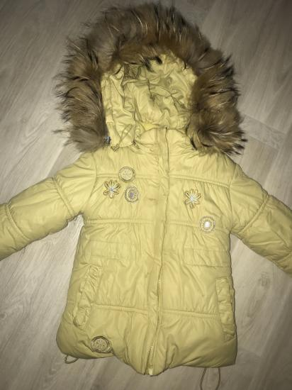 Зимняя куртка в норм состоянии!