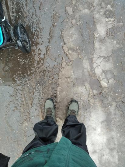 Январь. Самое время достать дождевые