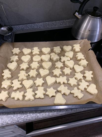 Очень простое и вкусное печенье