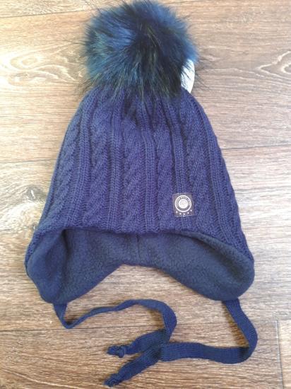 Новая зимняя шапка,на флисе.Размер