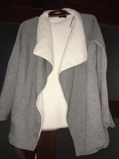 Тёплая кофта и штаны для беременных