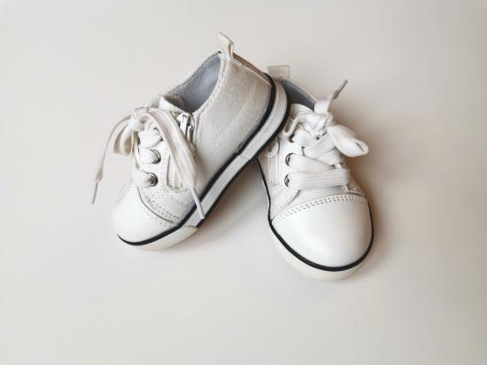 1)кеды белые 21р 12,5см одевали