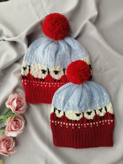 🐑🐑🐑 Шапка и шапка