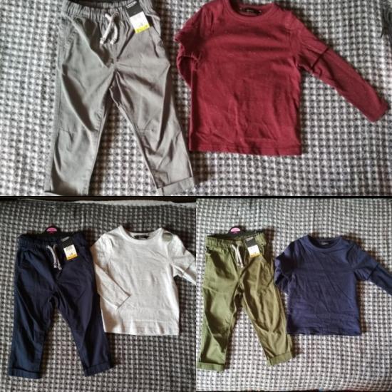 Набор легких штанов и стильной