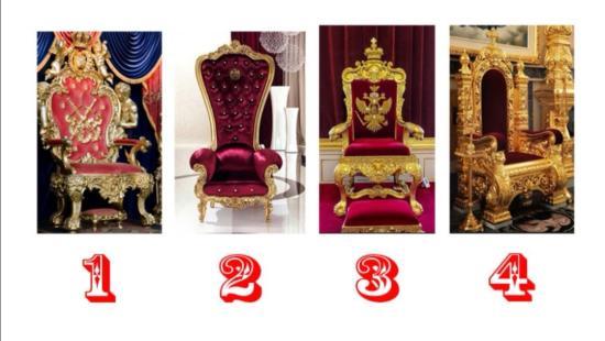 Выберите трон и читайте о себе)