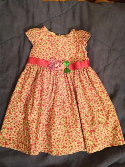 Платье 92 см 350р