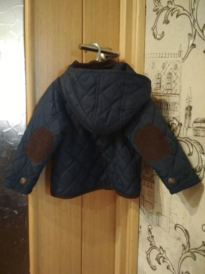 Куртка осенняя утепленная на рост