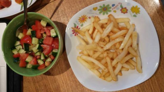 Мой полезно - не полезный обед) Вкуснятина!