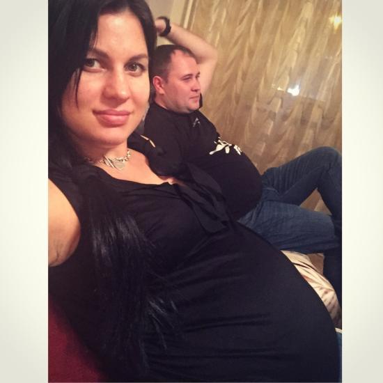С мужем сравняли животики)))