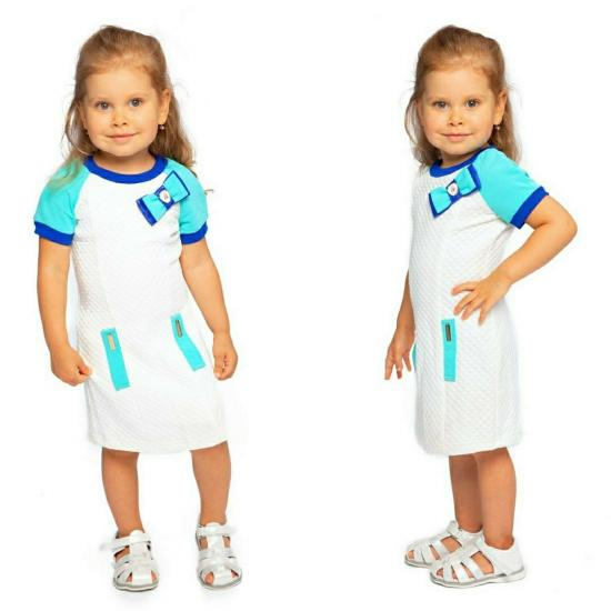 Платье, трикотаж) Рост 86-110)