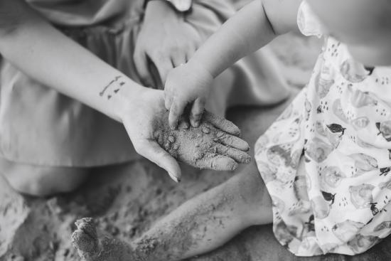 Целый мир в маминых руках...