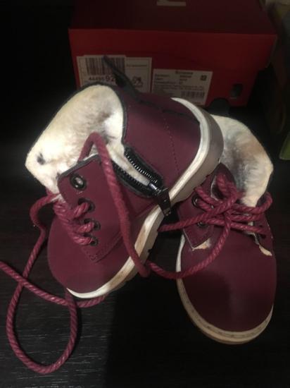 Новые ботиночки 13 см. Продпет