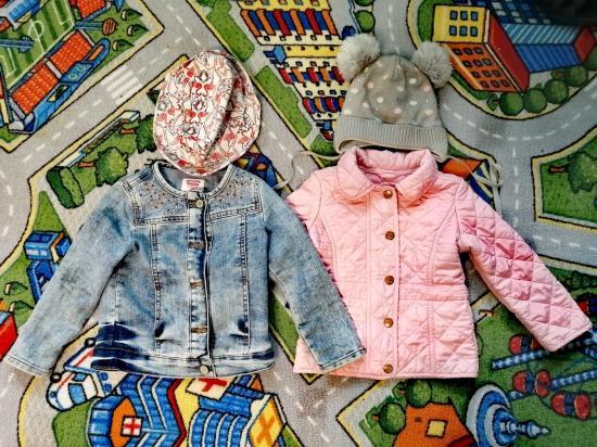 Пакет вещей на девочку 2-3 года 98-104 800р