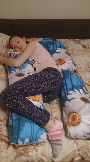 Прибыла моя подушка! Живота у меня