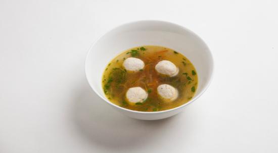 🔶Геркулесовый суп с куриными фрикадельками🔶  #меню_до_года  Ингредиенты: 400