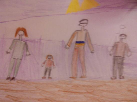 Сегодня братик Ульяны нарисовал