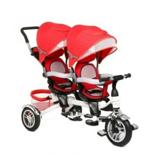 Детский велосипед- коляска для