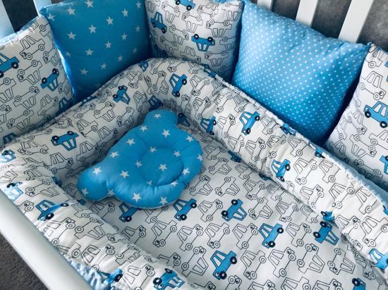 Бортики в кроватку для малыша  Бортики-2700