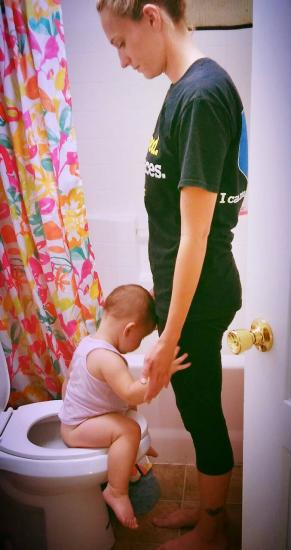 i love this picture.  #pottytraining