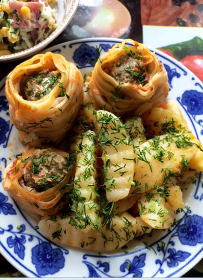 Идея на ужин: салангани и быстрый